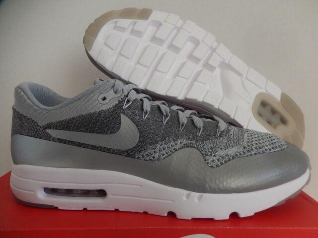 e444823cd5f Mens Sz 15 Nike Air Max 1 Ultra Flyknit Wolf Grey dark Grey (843384 001)