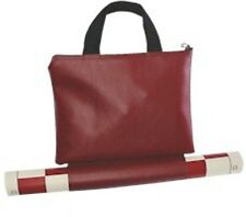 Tournament Chess SET 2 extra Queens Vinyl Board Bag in RED color NEW