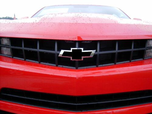 Black Vinyl Sheets Wrap Chevy Universal Bowtie Emblem Overlay Cover Decal 2