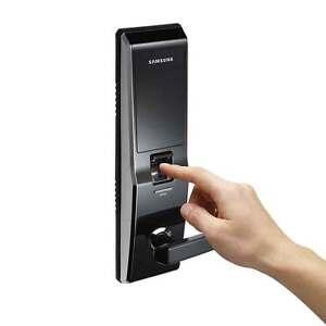 Samsung-SHS-H700-Electric-Digital-Door-Lock-Fingerprint-Number-Emergency-Keys-2