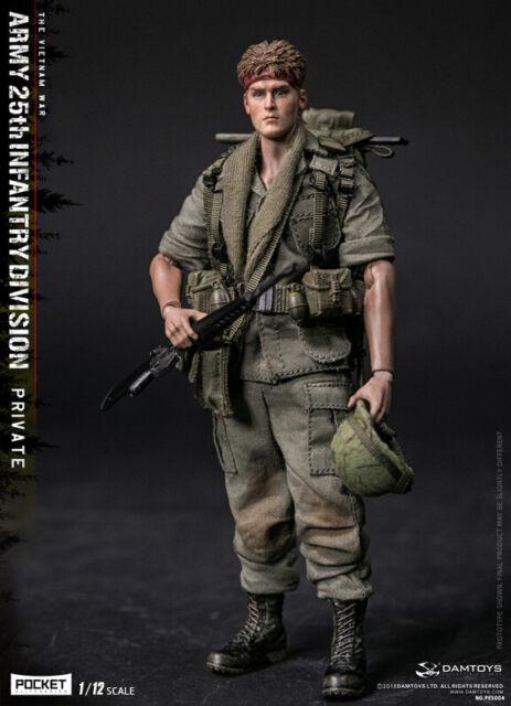 DAM Pocket Elite Vietnam Krieg US Army 25th Infantry Division private 1/12 Figur