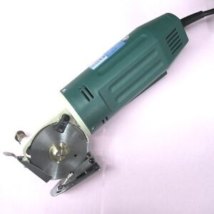 "Rotary Blade Electric Fabric Cloth Cutter Cutting Machine 110V 50MM 2/"" Blade"
