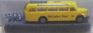 Praline Bus Mercedes Benz O 3500 500 Jahre Postbus 1/87 (21/03)