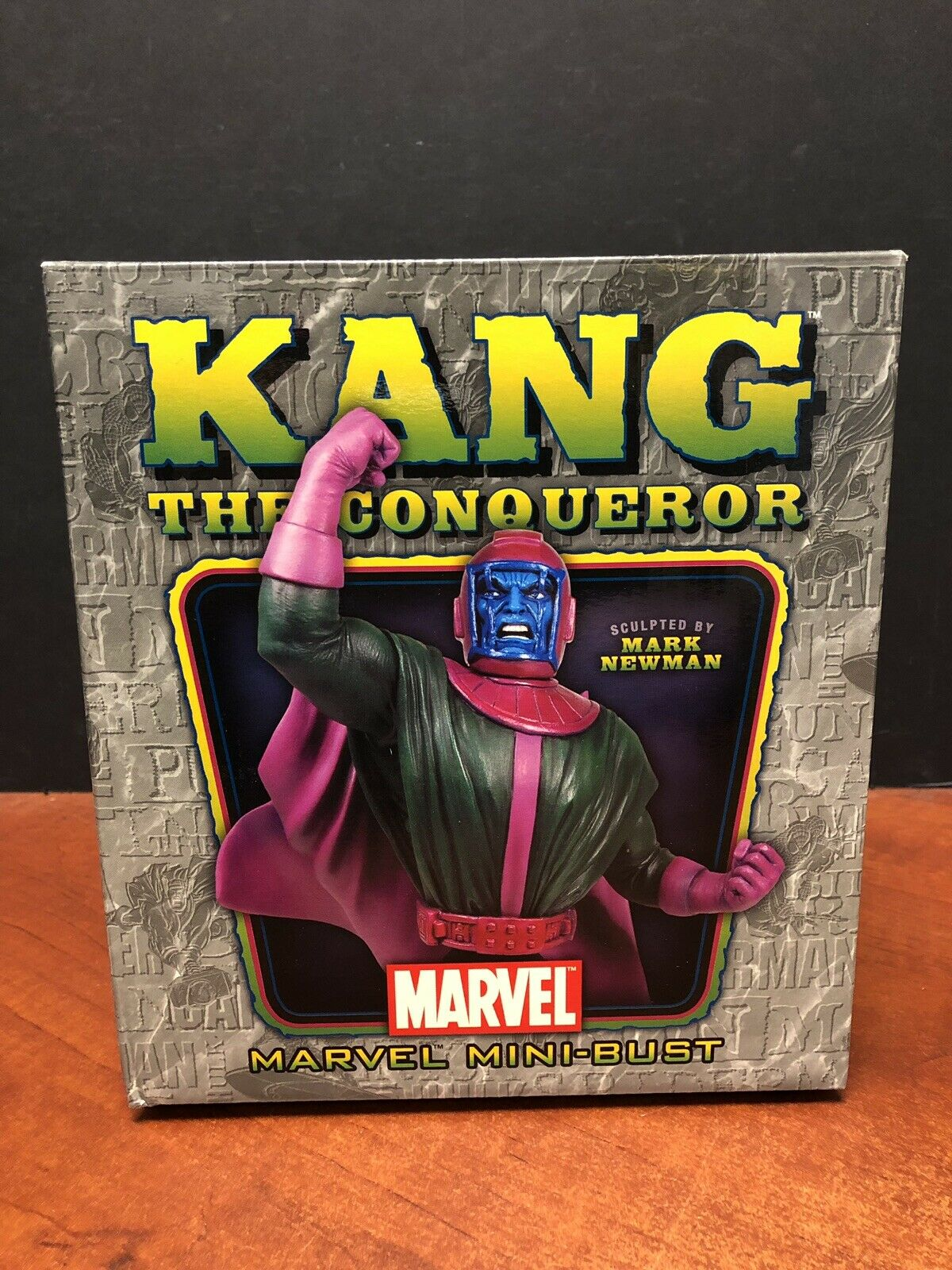 Bowen Designs Marvel Kang The Conqueror Mini Bust TAMP0356