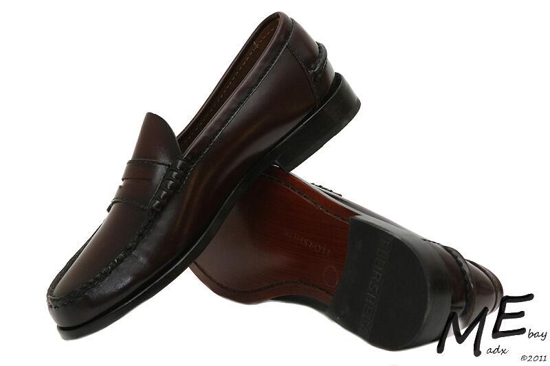 New Florsheim Berkley Penny Loafer Pelle 9.5 Uomo Dress Scarpe Taglia 9.5 Pelle burundy 3662a7