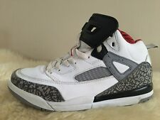 Nike Air Jordan Spizike White Red Cement Grey Blk PS Pre School Sz 11 317700-122