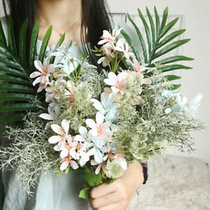 Am-1Pc-Artificial-Flower-Freesia-Garden-DIY-Stage-Party-Home-Wedding-Craft-Deco
