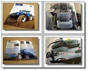 New Holland Tvt135 Tvt145 Tvt155 Tvt170 Tvt190 Prospectus-afficher Le Titre D'origine 8zuvs0gq-07225056-314311858