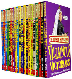 Horrible-Histories-Collection-20-Books-Set-By-Teary-Deary