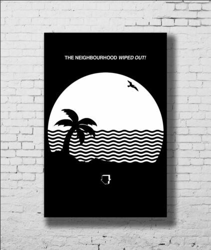 K095 Art The Neighbourhood Wiped Out Custom Rock Music Band Poster