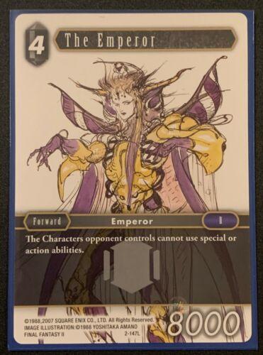 The Emperor2-147LLegendDarkOpus IIFinal Fantasy TCG