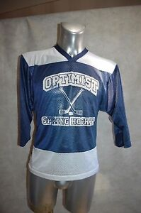 MAILLOT-HOCKEY-SUR-GLACE-K1-OPTIMIST-TAILLE-YOUTH-L-JERSEY-N-11