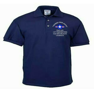 159TH-FIGHTER-WING-NAS-NEW-ORLEANS-USAF-ANG-EMBROIDERED-LIGHTWEIGHT-POLO-SHIRT
