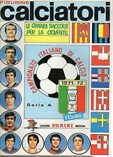ALBUM CALCIATORI RISTAMPA L'UNITA' ANNO 1971-72