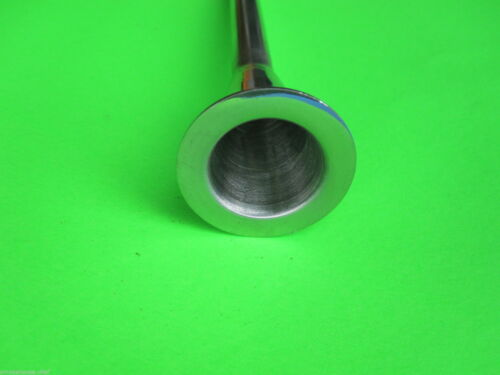 """1//2/"""" 10mm Sausage stuffing tube for vintage Chop Rite Stuffer Stainless Steel"""