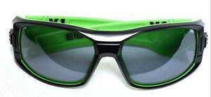 c3584fb4ea7 EIGHT EYEWEAR V.1 Sunglasses Matte Black   Green With Case  NEW
