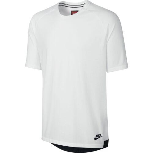 white // black $70.00 832208-100 Nike Men Sportswear Bonded Top