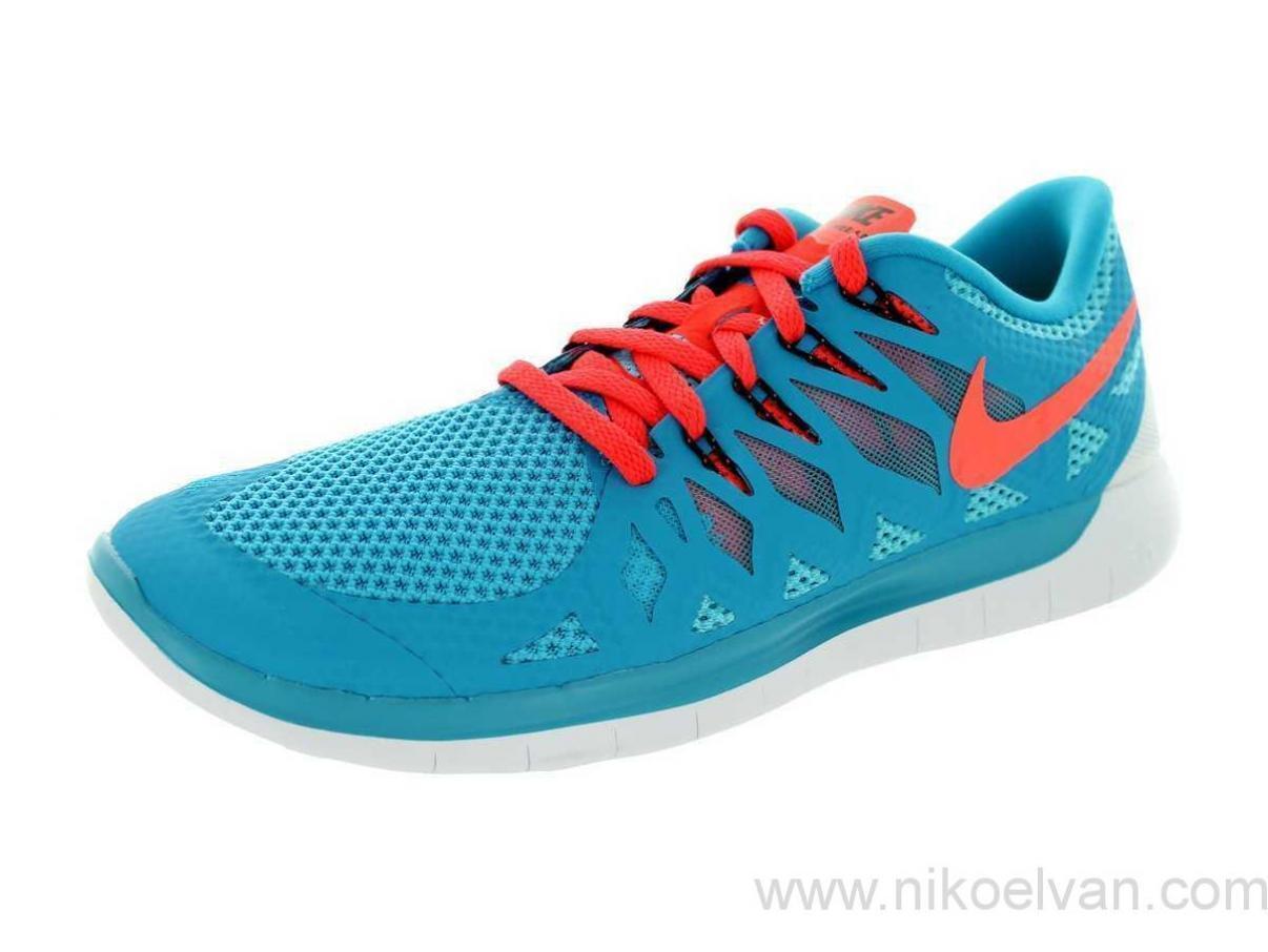 NIKE Free 5.0 (bluee Lagoon Crimson) Running shoes