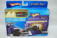 Hot Wheels 2005 Crash Test Playset With 1 Scale 1:64 Vehicle Included In Box