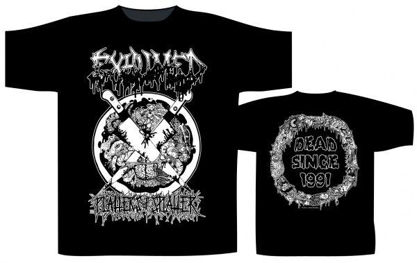 EXHUMED - Platters Of Splatter T-Shirt
