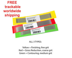 Dental-Abrasive-Diamond-STAINLESS-STEEL-Strips-Finishing-Polishing-4-Options