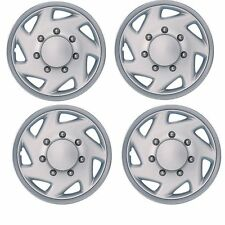 FORD E350 VAN WHEEL COVER HUB CAP 16 INCH REF#609ST NEW SET OF 4PC