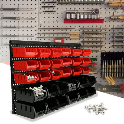 Stapelboxen Steckregal Regal erweiterbar Wandregal 30 tlg box 34er Set