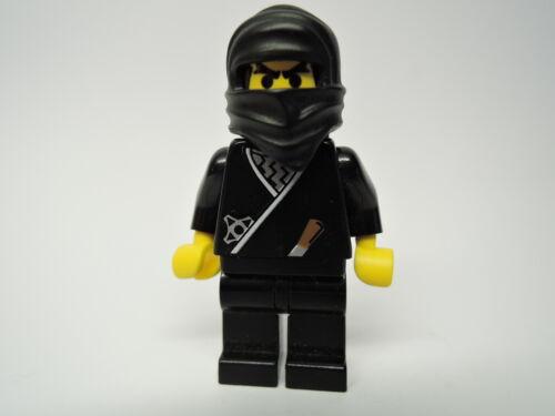 Lego Figur Castle schwarzer Ninja cas048  4805 6093 6088