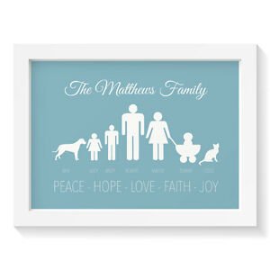 Personalised-Christmas-gift-print-FAMILY-SILHOUETTES-Wall-art-decor