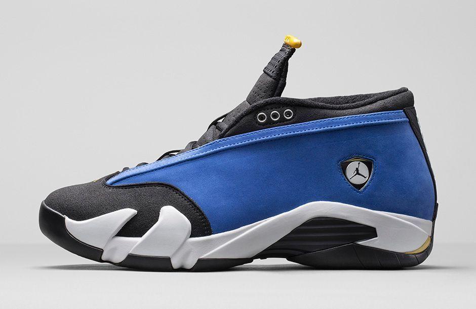 Men's Nike Air Jordan 14 XIV Low Laney Royal Blue Retro Size 17 807511 405 NIB