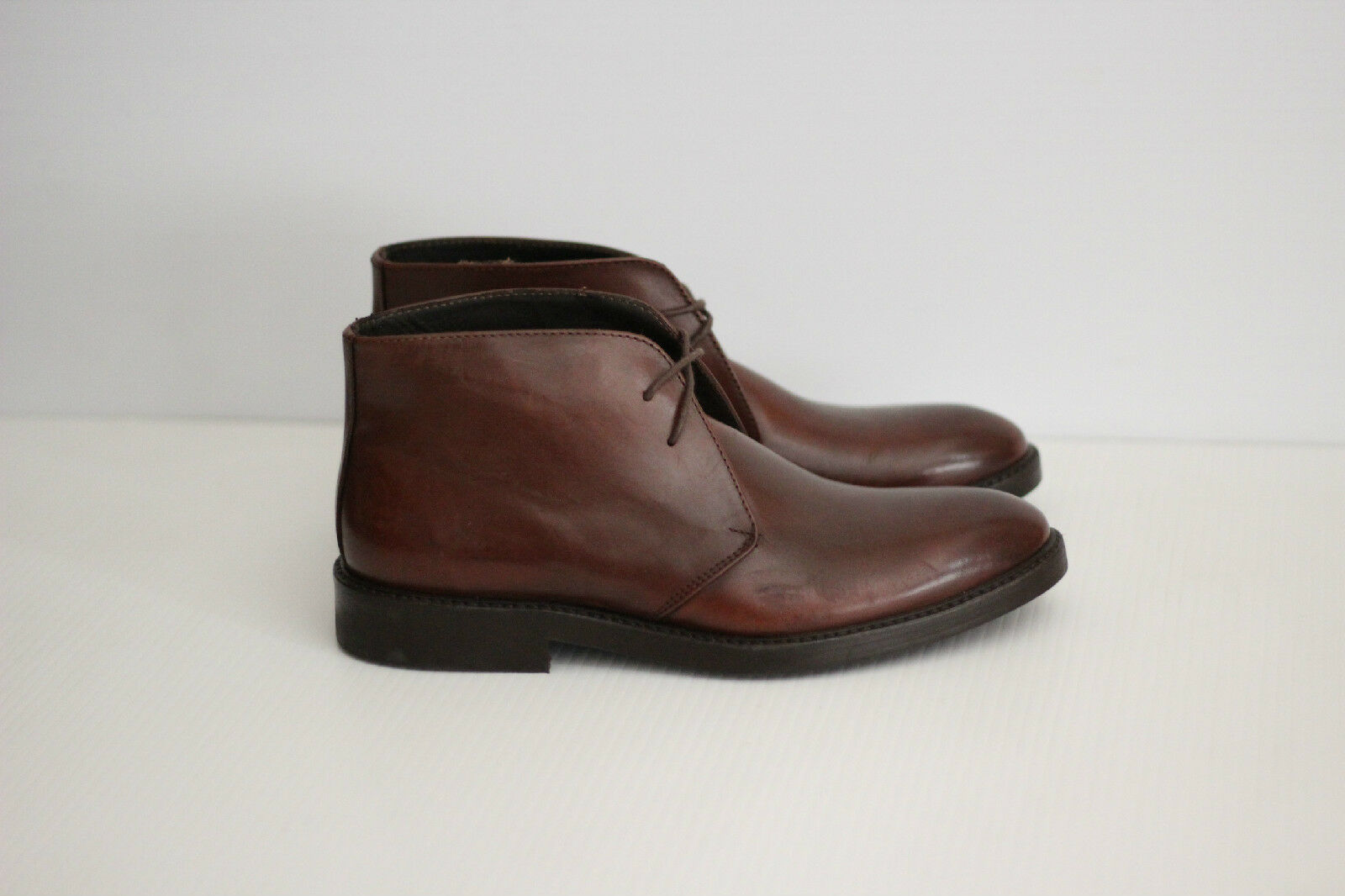 NEW To Boot New York 'Westin' Leather Chukka Boot - Brown - Size 7   (O4)