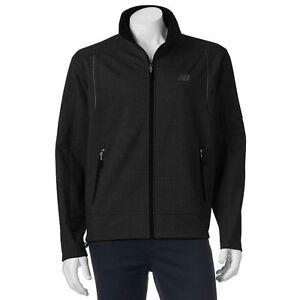 New-Balance-Coat-Men-039-s-Gray-Black-LT-XLT-2XLT-3XLT-Jacket-Softshell