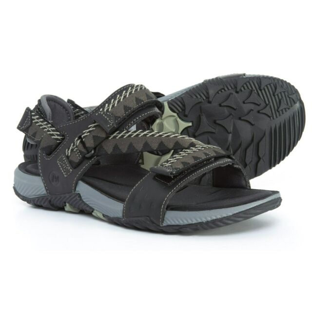 Merrell Terrant Convert Sandals Black Mens 12 J93915