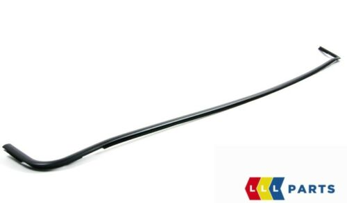 BMW NEW GENUINE 7 SERIES E38 FRONT UPPER WINDOW WATER DRAIN MOLDING TRIM BLACK