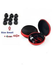 10 pairs Replacement Earbuds silicon Size Small fit Earphone + Case