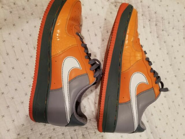 Air Force 1 Low Premium XXV Orange Gray