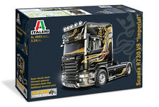 Italeri 3883 1/24 Scale Show Truck Model Kit Scania R730 V8 Imperial 4x2