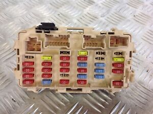 Nissan X Trail T30 2 2 Dci Fuse Box And Relays 25230 79981