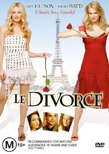 1 of 1 - Le Divorce (2003) Kate Hudson - NEW DVD - Region 4