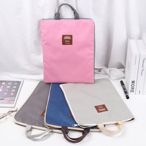 Cloth Organizer Document Bag Paper Storage A4 File Folder Business Briefcase