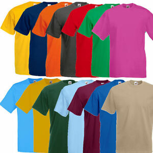 Fruit-of-the-Loom-Valueweight-T-Shirt-Herren-T-Shirt-S-M-L-XL-XXL-3XL-4XL-5XL