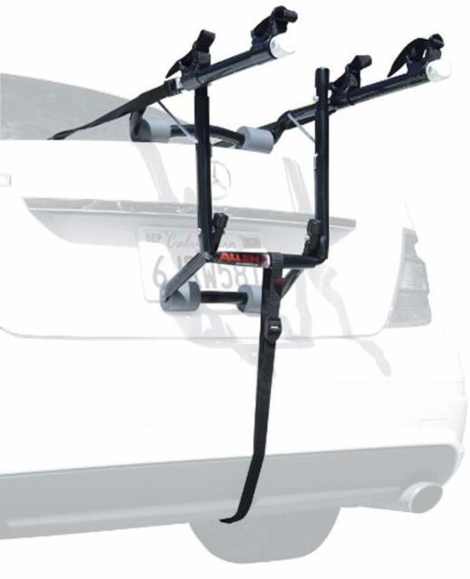 Allen Sports Deluxe 2 Bike Storage Mount Rack Hitch for Rear Car Trunk Open Box