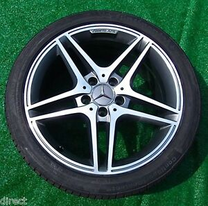 Details About 4 Perfect Genuine Oem Factory Mercedes Benz Amg C63 Wheels Tires C300 C350 C250