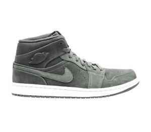 buy popular 96a46 943e7 Details about Nike Air Jordan Mid Nouveau Sequoia Green Men's Size 8.5 Army  Suede