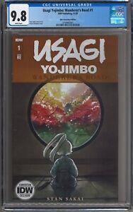 Usagi Yojimbo Wanderer's Road #1 2020 NYCC Peach Momoko Variant CGC 9.8 ONLY 700