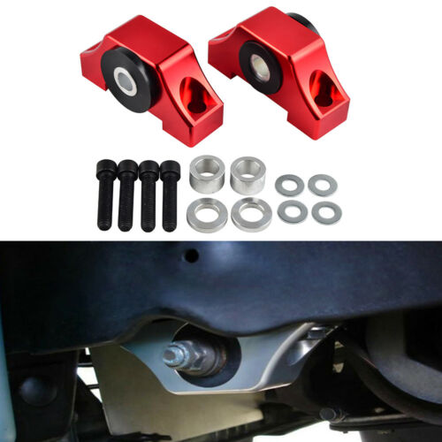 Engine Motor Torque Mount Kit B-series//D-series Fits 92-00 Honda Civic EG EK Red