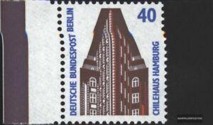 Berlin-West-816-Seitenrandstueck-kompl-Ausg-gestempelt-1988-Sehenswuerdigkeit