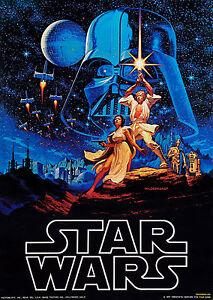 a1 canvas art print painting film hildebrandt star wars poster