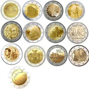 2-euros-commemorative-2017-Neuve-UNC-plusieurs-pays-dispo-a-choisir