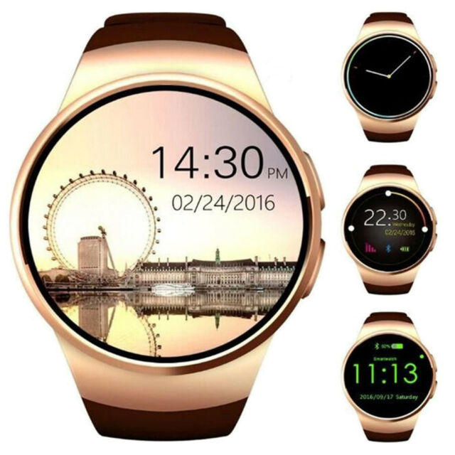 Bluetooth SIM TF Smart Watch Phone Pedometer for Android IOS ...
